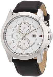 Reloj Tommy Hilfiger 1710294 de cuarzo para hombre con correa de piel, color marrón de Tommy Hilfiger