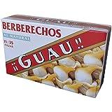 Guau Berberechos Al Natural, 25/35 Piezas - Paquete de 5 x 111 gr - Total: 555 gr