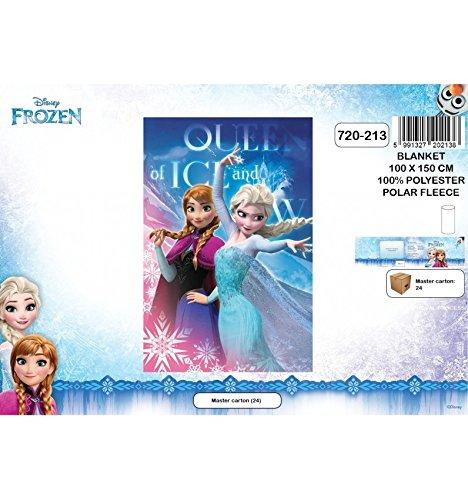Plaid pile la regina delle nevi coperta bambino disney frozen, ana e elsa