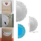 Gemini_mall® Flower Metal Cutting Dies Stencils DIY Scrapbooking Album Paper Card Embossing Craft Dies (Lace)