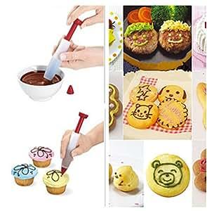 Stylo à Plume D'écriture Chocolat Alimentaire/ Stylo gâteau/ Stylo de Décoration/ Décoration de Gâteaux Outils