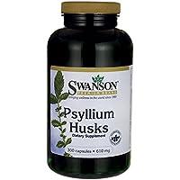 Swanson Psyllium Husks 610mg, 300 Capsules
