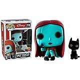 Funko - Figurine NBX - Sally Seated Glow In The Dark Exclu Pop 10cm - 0889698209274