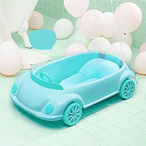 Coche Bebé Baño Azul Recién Nacido Puede Sentarse Tumbado Bañera Universal Bañera...