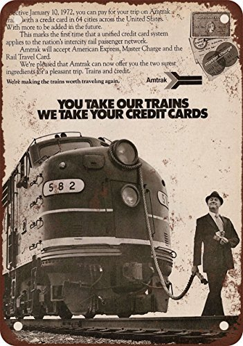 trenes-1972-amtrak-vintage-look-reproduccion-metal-tin-sign-7-x-10-pulgadas