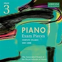 Piano Exam Pieces 2007-2008: Grade 3