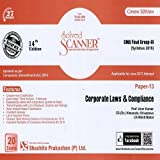 Solved Scanner CMA Final Group-III (New Syllabus) Paper-13 Corporate Laws and Compliance