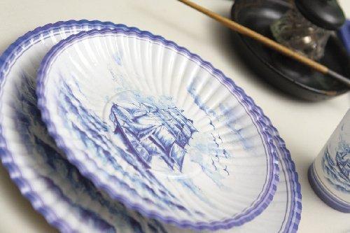 10-x-veliero-design-italien-petite-assiette-bleu-18-cm