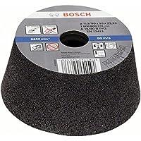 Bosch 1 608 600 231 - Vaso de amolar, cónico - metal/hierro fundido - 90 mm, 110 mm, 55 mm, 16 (pack de 1)