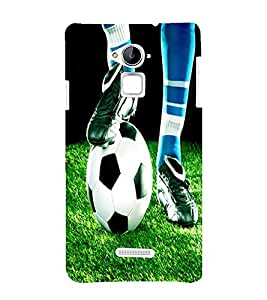 Fiobs football fans royal manchester united fania fifa worldcup Designer Back Case Cover for Coolpad Note 3 PLUS