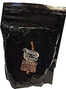 Dreamy Bean Creamy Caramel Flavour Coffee (227g cafetiere grind) / Caffè Aromatizzato Caramello 227g