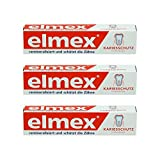 ELMEX Caries Protection Toothpaste with Amine Fluoride 3 x 75ml by Elemx