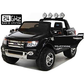ford ranger wildtrak voiture jouet lectrique pour enfant deux moteurs t l commande deux. Black Bedroom Furniture Sets. Home Design Ideas