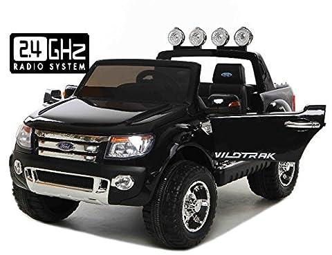 Ford Ranger Wildtrak Voiture-jouet électrique pour enfant, DEUX MOTEURS, télécommande,