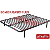 Somier láminas SG20 Pikolin - 135x190cm: Amazon.es: Hogar