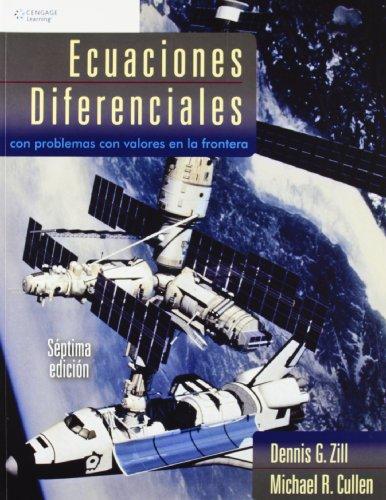 ECUACIONES DIFERENCIALES 7/E CON PROBLEMAS CON VALORES FRONT por Dennis G. Zill