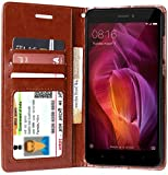 Best Wallet Case For Note 4 - unisTuff Leather Impact Resistant Wallet Folio Flip Cover Review
