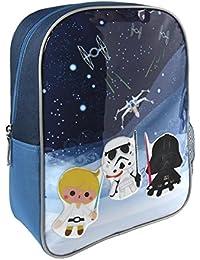 Preisvergleich für Cerdá Star Wars Kinder-Rucksack, 33 cm, Blau (Azul)