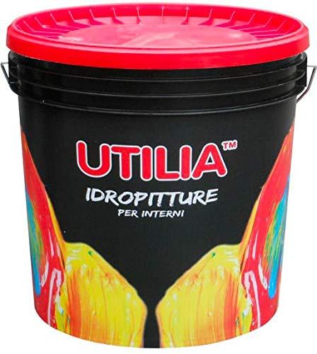 Idropittura Lavabile a Tempera Traspirante per Interni colore bianco confezione da 14 litri