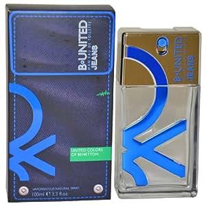 Benetton B-United Jeans Homme Eau de Toilette Vaporisateur 100ml