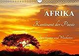 AFRIKA - Kontinent der Poesie (Wandkalender 2019 DIN A4 quer): Weisheiten und Sprichwörter (Monatskalender, 14 Seiten ) (CALVENDO Orte)