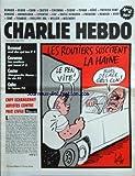 CHARLIE HEBDO [No 2] du 08/07/1992 - LES ROUTIERS SUSCITENT LA HAINE PAR GEBE -CNPF ECHANGERAIT ARTISTES CONTRE PAIX CIVILE PAR VAL -RENAUD / OEUF DUR QUI TUE -CAVANNA / LES ROUTIERS QUI TUENT -CASTER / MARGUERITE DURAS -CABU / LE JAPON -AVEC BERNAR