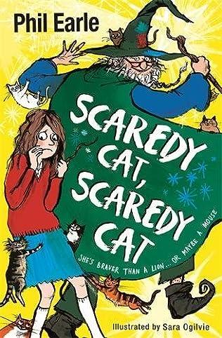 book cover of Scaredy Cat, Scaredy Cat