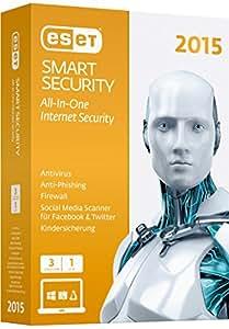 ESET Smart Security 2015 - 3 Computer [import allemand]