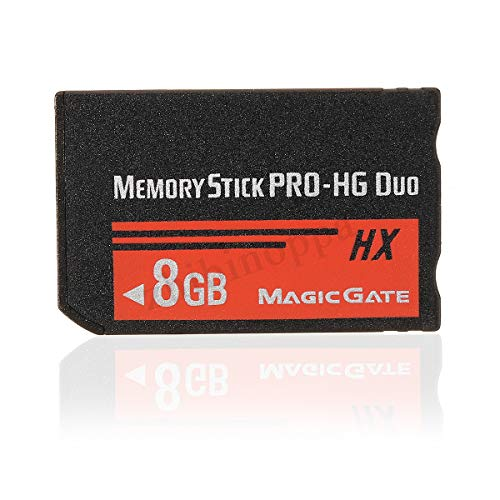 Toogoo scheda flash ms pro duo hx memory stick da 8 gb per fotocamera cybershot sony psp