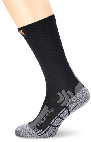 X-Socks Erwachsene Funktionssocken Outdoor Mid Calf, Anthracite, 42/44, X100012 (Kanal Air Socken)