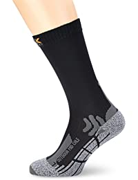 X-Socks Trekkingsocken Outdoor Mid Calf - Calcetines para hombre, color gris, talla DE: 3