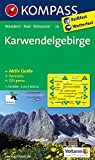 Karwendelgebirge: Wanderkarte mit Aktiv Guide, Panorama, Radwegen und Skitouren GPS-genau. 1:50000 (KOMPASS-Wanderkarten, Band 26)