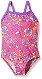 Speedo Girls'Seasquad Thinstrap Badeanzug 1 Piece rot Raspberry Fill/Purple Rain/Hydro Green Size 6