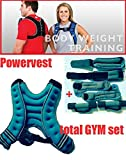 ERGONOMIC POWER VEST 5 kg + FREE !!! complete set of weight for your hands, wrists and ankles