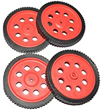 4Pieces Wheels for BO Motors TechDelivers 10mm width 70mm height