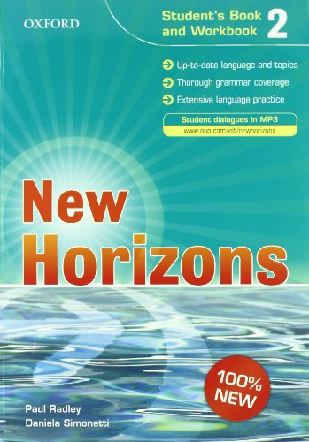 New horizons. Student's book-Workbook-Homework book. Per le Scuole superiori. Con CD Audio. Con espansione online: 2