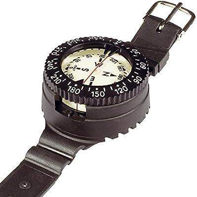 Mares Instrument Mission 1C - Wrist Compass - Brújula de muñeca, color negro