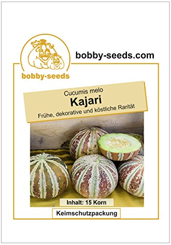 Bobby-Seeds Melonensamen Kajari Zuckermelone Portion