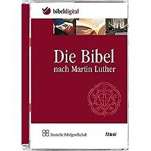 Die Bibel nach Martin Luther: Mit Apokryphen. Revidierte Fassung 1984, Ausgabe in neuer Rechtschreibun. CD-ROM,  Bibeltext mit Suchprogramm