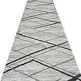Korridor-Läufer-Wolldecken-Langer Gang-Teppich-Geometrisches Muster-Rutschfeste Plastikkörnchen Wear-Resisting dauerhafte Multi-Größe europäische Art, Stärke 6mm (größe : 1m x 3m)