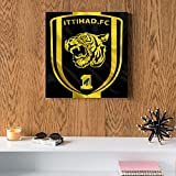 al ameed al Ittihad MDF Wall art 30x30 Centimeter