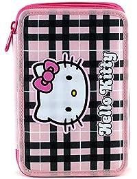 Hello Kitty 23890 - Estuche doble completo para escuela