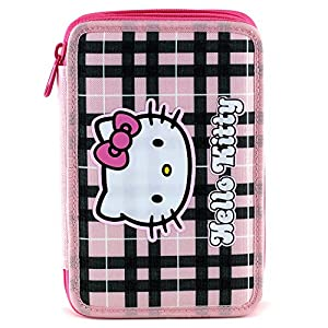 Hello Kitty 23890 – Estuche Doble Completo para Escuela