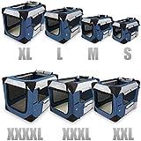 Klappbare Transportbox für Hund Katze & Kleintier in den Größen S – XXXXL wählbar inklsuive Polster - 2