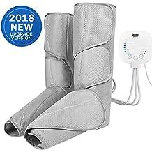 Ikeepi Masajeador de piernas con compression por aire, active la circulación, aparato para pies