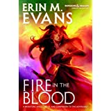 BY Evans, Erin M ( Author ) [ FIRE IN THE BLOOD (DUNGEONS & DRAGONS: FORGOTTEN REALMS) ] Oct-2014 [ Hardcover ]