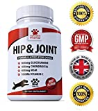 Advanced Hip And Joint Support - Glucosamine Chondroitin MSM For Dogs – Chewable Food Supplement With Vitamins C & E – Great for Stiff & Older Dogs - Beef Flavour Tablets - Furever Friendz