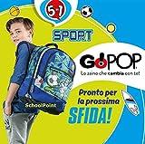 Giochi Preziosi GG955000 Gopop 19 Zaino Eestensibile Sport Sacca, 43 cm, Multicolore
