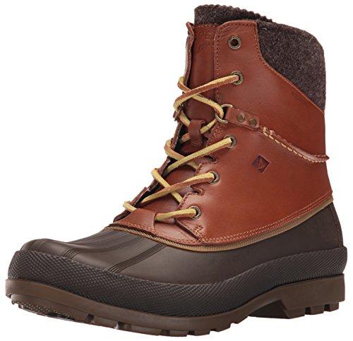 Sperry - Cold Bay Boot W/Vibram, Stivali a metà gamba con imbottitura pesante Uomo Tan