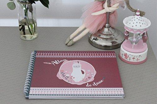 Album de classe rose